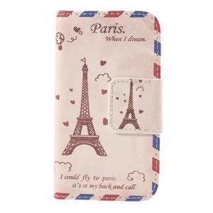 Peňaženkové puzdro pre Samsung Galaxy S Duos / Trend Plus - Eiffelova veža - 2