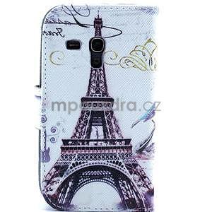 Peňaženkové puzdro na Samsung Galaxy S3 mini - Eiffelova veža - 2