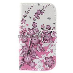Puzdro na mobil Samsung Galaxy S3 mini - kvitnúca vetvička - 2