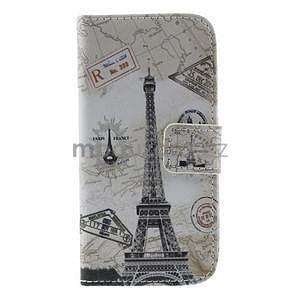 Peňaženkové puzdro pre Samsung Galaxy S4 mini - Eiffelova veža - 2