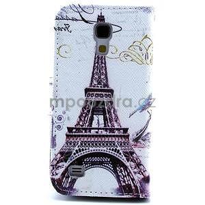 Eiffel peňaženkové puzdro na mobil Samsung Galaxy S4 mini - 2
