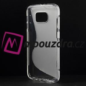 Gélové s-line puzdro na Samsung Galaxy S6 - transparentný - 2