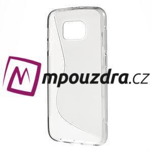 Gélové s-line puzdro pre Samsung Galaxy S6 - šedé - 2