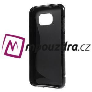 Gélové s-line puzdro pre Samsung Galaxy S6 - čierné - 2
