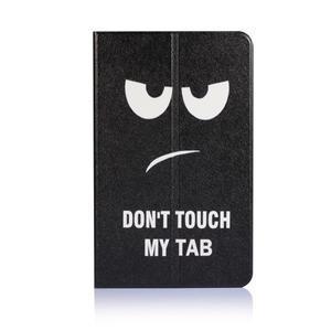 Picture polohovatelné puzdro na Samsung Galaxy Tab A 10.1 (2016) - nedotýkat se - 2