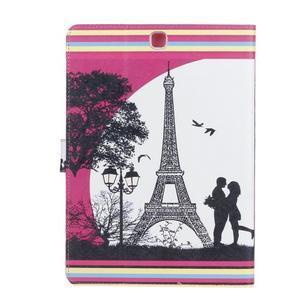 Emotive puzdro pre tablet Samsung Galaxy Tab S2 9.7 - láska pod Eiffelkou - 2