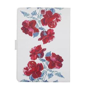 Emotive pouzdro na tablet Samsung Galaxy Tab S2 9.7 - květiny - 2