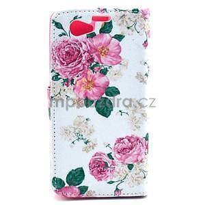 Puzdro pre mobil Sony Xperia Z1 Compact - kvety - 2