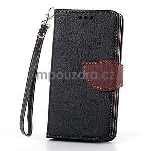 Leaf Peňaženkové puzdro pre Sony Xperia Z3 Compact - čierne - 2