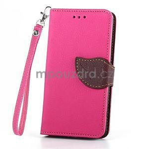 Leaf Peňaženkové puzdro pre Sony Xperia Z3 Compact - rose - 2