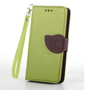 Leaf Peňaženkové puzdro pre Sony Xperia Z3 Compact - zelené - 2