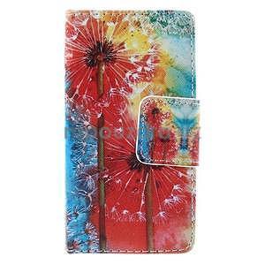 Puzdro pre mobil Sony Xperia Z3 Compact - malované púpavy - 2