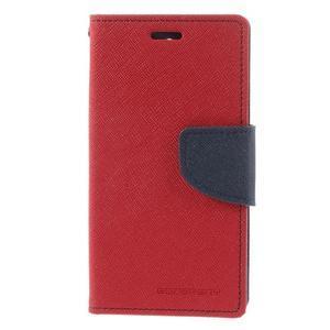 Diary peněženkové pouzdro na mobil Sony Xperia Z3 Compact - červené - 2