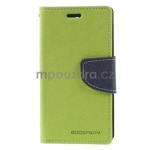 Diary peněženkové pouzdro na mobil Sony Xperia Z3 Compact - zelené - 2