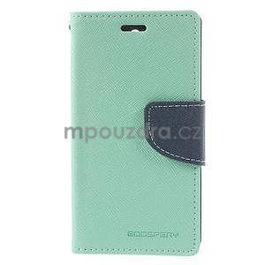 Diary peněženkové pouzdro na mobil Sony Xperia Z3 Compact - azurové - 2