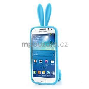 Silikonový obal na Samsung Galaxy S4 mini - modrý králík - 2