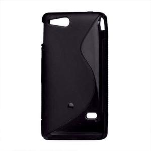 Gélové S-line puzdro na Sony Xperia Go- čierne - 2