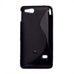Gélové S-line puzdro na Sony Xperia Go- čierne - 2/3