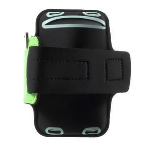 Fittsport puzdro na ruku pre mobil do rozmerov 143.4 x 70,5 x 6,8 mm - zelené - 2