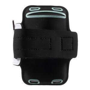 Fittsport puzdro na ruku pre mobil do rozmerov 143.4 x 70,5 x 6,8 mm - biele - 2