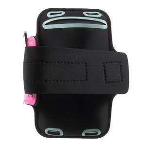 Fittsport pouzdro na ruku pro mobil do rozměrů 143.4 x 70,5 x 6,8 mm - rose - 2