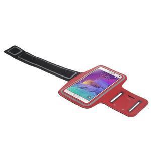 Gym běžecké pouzdro na mobil do rozměrů 153.5 x 78.6 x 8.5 mm - červené - 2