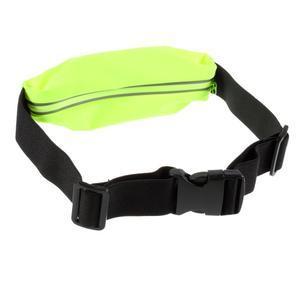 Sportovní kapsička přes pas na mobily do rozměrů 149 x 75 mm - zelené - 2