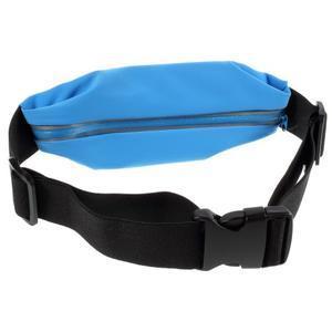 Sportovní kapsička přes pas na mobily do rozměrů 149 x 75 mm - modré - 2