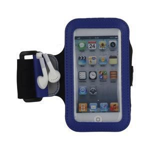 JogyFit športové puzdro na telefón do veľkosti 115 x 60 mm -  modré - 2