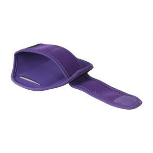 Fitness športové puzdro na mobil (140 x 75 mm) - fialové - 2