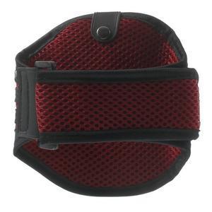 Absorb športové puzdro na telefón do veľkosti 125 x 60 mm -  červené - 2