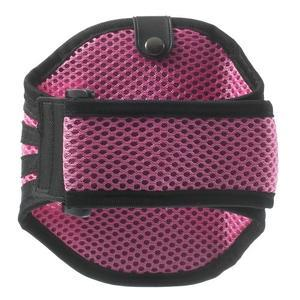 Absorb športové puzdro na telefón do veľkosti 125 x 60 mm - ružové - 2