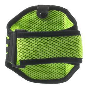 Absorb športové puzdro na telefón do veľkosti 125 x 60 mm -  zelené - 2