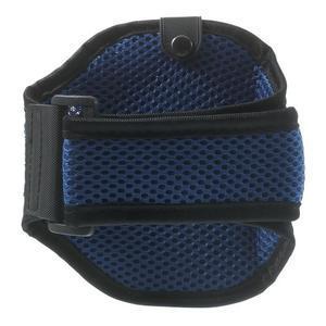 Absorb športové puzdro na telefón do veľkosti 125 x 60 mm -  modré - 2