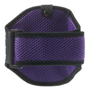 Absorb športové puzdro na telefón do veľkosti 125 x 60 mm -  fialové - 2