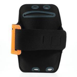 Soft puzdro na mobil vhodné pre telefóny do 160 x 85 mm - žlté - 2