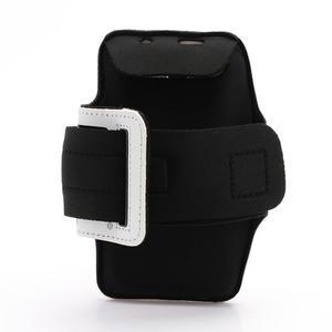 Športové puzdro na ruku až do veľkosti mobilu 140 x 70 mm - biele - 2