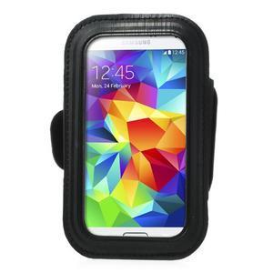 Fit Gym puzdro na ruku pre telefón až do veľkosti 145 x 73 mm - čierne - 2