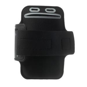 Fitsport puzdro na ruku pre mobil do veľkosti až 145 x 73 mm - čierne - 2