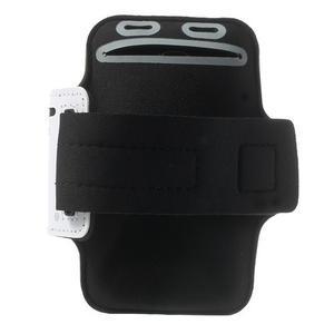 Fitsport puzdro na ruku pre mobil do veľkosti až 145 x 73 mm - biele - 2