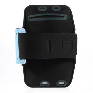 Soft puzdro na mobil vhodné pre telefóny do 160 x 85 mm - svetlomodré - 2