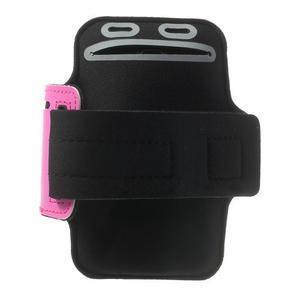 Fitsport puzdro na ruku pre mobil do veľkosti až 145 x 73 mm - rose - 2