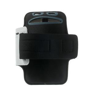 Fitsport puzdro na ruku pre mobil do veľkosti až 145 x 73 mm - šedé - 2