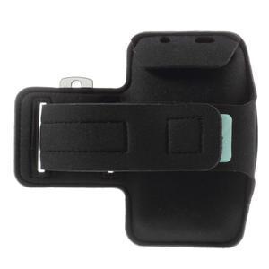 Run bežecké puzdro na mobil do veľkosti 131 x 65 mm - čierne - 2