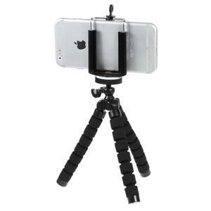 Trojnožkový stativ pre mobilní telefony - čierny - 2