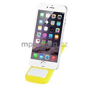 Tvarovatelný stojánek na mobil, žltý - 2