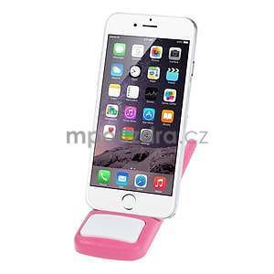 Tvarovatelný stojánek na mobil, růžový - 2