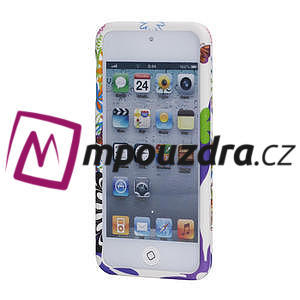 Plastové puzdro na iPod Touch 5 - květy - 2