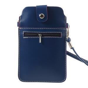 Univerzálne puzdro/kapsička pre mobil do rozmerov 180 x 110 mm - modré - 2