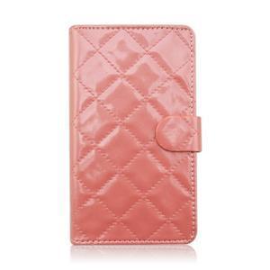 Luxury univerzální pouzdro na mobil do 148 x 76 x 21 mm - růžové - 2